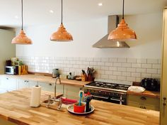 My gorgeous kitchen - subway metro tile, howdens, shaker style, grey cabinets…