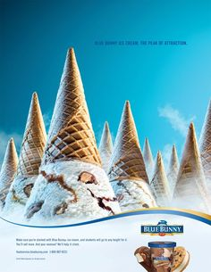 Today, we are here to share different marketing strategies of ice cream ads. Do you like ice cream? Creative Advertising, Food Advertising, Ads Creative, Creative Posters, Advertising Poster, Advertising Design, Creative Design, Advertising Campaign, Product Advertising