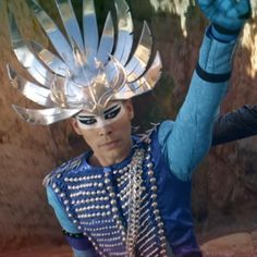 Luke Steele Alive | Empire of the Sun in the video for 'Alive'