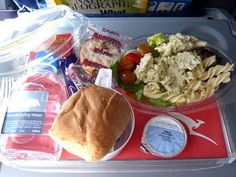 Airline Food ! Northwest Airlines