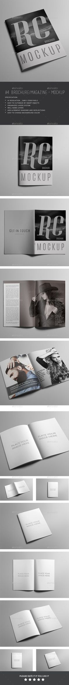 Magazine / Brochure Mockup. Download here: http://graphicriver.net/item/magazine-brochure-mockup/15204214?ref=ksioks