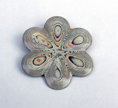 Another gorgeous paper brooch by Liz Hamman