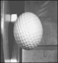 High speed golf ball impact.gif