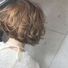 Cream of Mushroom Medium Hair Styles, Short Hair Styles, Hair Arrange, Short Curly Hair, Love Hair, About Hair, Curled Hairstyles, Hair Inspo, Hair Goals