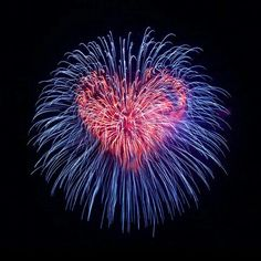 Heart fire works