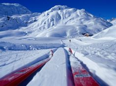 Cross-Country Skiing in St. Christoph, Austria  by Philip & Karen Smith