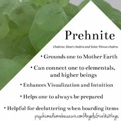 Prehnite crystal meaning
