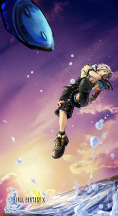 Week 10 - Final Fantasy X - Fan Art Wed -