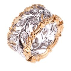 Lily Rose Diamond Ring - Rings - Fine Jewelry from Italy's Best Artisans - Artemest