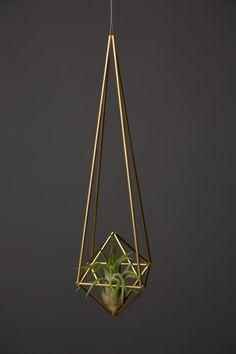 Himmeli diamond air planter - Decoist