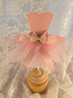 Tutu Cupcake Toppers - Ballerina Party - Ballet Event - Ballerina Decorations - Pink Party - Girl Birthday Ideas - Naming - Baby Shower