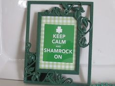 Lots of decor for St. Patrick's Day