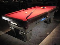 Follow these step-by-step instructions from HGTV.com for building a pool table.