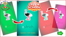 Letter School Learn How to Write Lowercase Letters NOPQRSTU HWT Style  & Education App For Kids