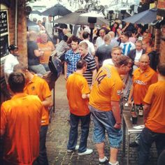 Beer Garden  #WolvesFamily at #HogsheadWolves #WolvesFC #Wolverhampton #Wolves #Pub #Bar #Party #Meeting #Drinks #Ales #Beer #BBQ #BeerGarden #Garden #Football #SkySport #Livesport #Sport
