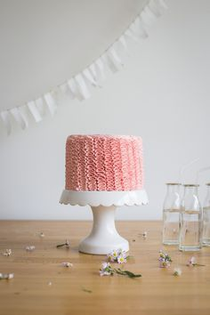 Ruffle Cake   Made From Scratch
