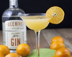 Jack & Jill {a gin clementine cocktail}