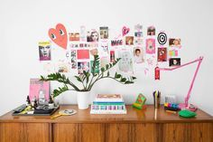 Check on www.prettyhome.org - inspiration wall