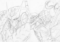 Twitter / markerguru: more penciled sketches for ...