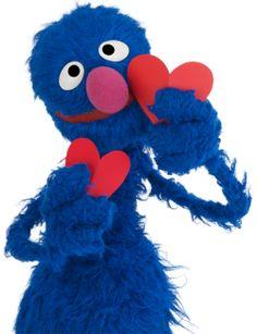 Elmo, Sesame Street Muppets, Grover Sesame Street, Fraggle Rock, The Muppet Show, Miss Piggy, Jim Henson, Kawaii, Kermit