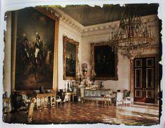 Original Colour Photos of the Alexander Palace in Tsarskoe Selo, 1917