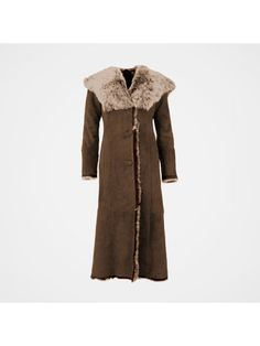 【Clearance Sale💥Shipped Within 24h】Hooded Toscana Coat - inkshe.com Long Hooded Coat, Chilly Weather, Covered Buttons, Clearance Sale, Mantel, Hoods, How To Wear, Clothes, Shopping