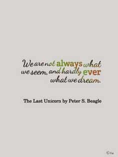 the last unicorn quote