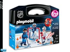 PLAYMOBIL 9177 Carrying Case NHL Shootout