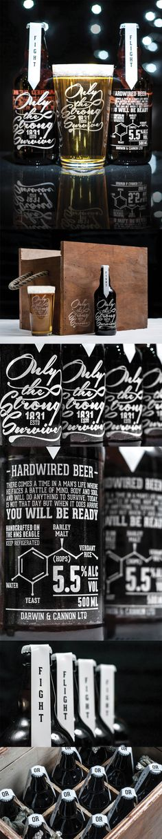 Only The Strong Survive - Hardwired Beer by Craig Black