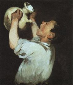 A boy with a pitcher - Edouard Manet