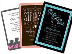 """Sip and Sees: Many expectant parents will buck tradition in 2013 by swapping the pre-baby shower for a """"Sip and See"""" party post-baby instead. Typically held in baby's first month of life, a sip and see allows friends and family to come by to """"sip"""" a drink and """"see"""" your newborn."""