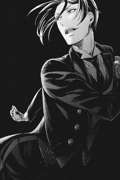 Nnnnnng Sebas-chaaaaaaan. <3 Sebastian from Black Butler   Kuroshitsuji #anime