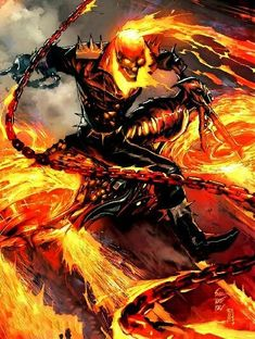Heroes For Hire Marvel Comic Books Ghost Rider 2, Ghost Rider Marvel, Heroes For Hire, Pop Heroes, Marvel Comics Art, Marvel Vs, Fighting Demons, Spirit Of Vengeance, Deal With The Devil