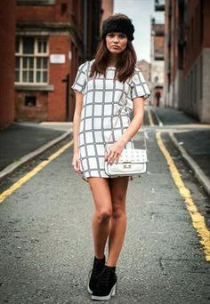 Black and white tunic £22.99