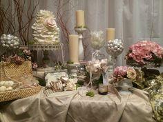 Perfectly Posh Candy Buffets Pinks & Creams Shabby Chic www.perfectlyposhct.com