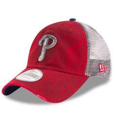 7a8aa134f3ec2 Men s Philadelphia Phillies New Era Red Team Rustic 9TWENTY Adjustable Hat