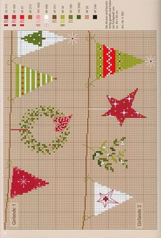 "Photo from album ""Winterlicht"" on Yandex. Cross Stitch Christmas Ornaments, Christmas Embroidery, Diy Embroidery, Christmas Cross, Cross Stitch Embroidery, Christmas Tree Pattern, Cat Cross Stitches, Cross Stitch Charts, Cross Stitch Designs"