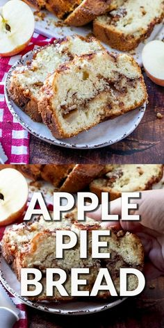 Healthy Apple Desserts, Baked Apple Dessert, Apple Dessert Recipes, Dessert Bread, Banana Bread Recipes, Köstliche Desserts, Brownie Recipes, Cheesecake Recipes, Baking Recipes