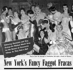 Old school drag queens took a lot of shit and paved the way for us on a lot of unexpected fronts. Just look at the dripping homophobia and gay slurs in this piece on the NYC drag balls of years past.