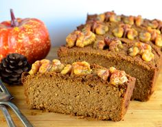 Pumpkin Bread, topped with crunchy walnuts -- get this recipe from our newsletter. Pumpkin Bread, topped with crunchy walnuts -- get this recipe from our newsletter.Pumpkin Bread, topped with crunchy walnuts -- get this recipe from our newsletter. Fast Metabolism Recipes, Fast Metabolism Diet, Metabolic Diet, Bread Recipes, Diet Recipes, Potato Recipes, Vegetarian Recipes, Vegetable Recipes, Healthy Recipes