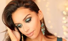 Carli Bybel (carlibel55) - Deep Lids Teal Eyeshadow | Color Series +Makeup Tutorial!