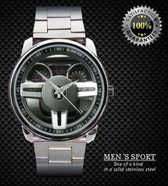 NEW RARE !! Ford Mustang GT Steering Wheel #65dr Sport Metal Watch | Business, Office & Industrial, Printing & Graphic Arts, Screen/Speciality Printing | eBay!