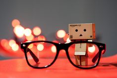 Danbo Glasses by Gigin, via Flickr