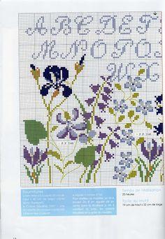 De fil en Aiguille HS 20 Tout Bleu - Lita Zeta - Picasa Albums Web