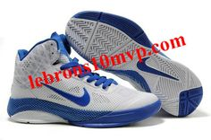 Nike Zoom Hyperfuse XDR 2010 Shoes White/Blue