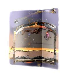 The Tiphareth Art Diary, In This Moment, Digital, Journal Art, Newspaper Art