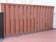 Composite Wood Privacy Fence Chester County PA This Is The Fence I Want  With A Vertical