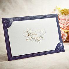 150Sets Kits Graceful Wedding Invitations 150 Cards+ 150 Envelopes+ Seals /TU026