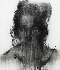 Shin KwangHo (South Korea) - [113] Untitled, 2013 Drawings: Charcoal, Conte on Canvas