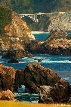 Big Sur Coast, Pacific Coast Highway, California